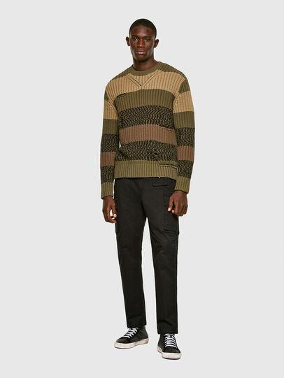 Diesel - K-COBALT, Military Green - Knitwear - Image 6