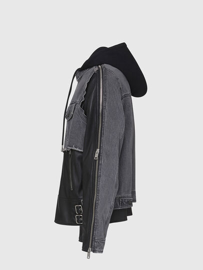 Diesel - L-IVAN,  - Leather jackets - Image 3