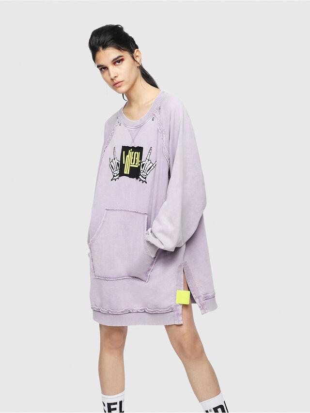 Diesel - D-AY, Lilac - Dresses - Image 1