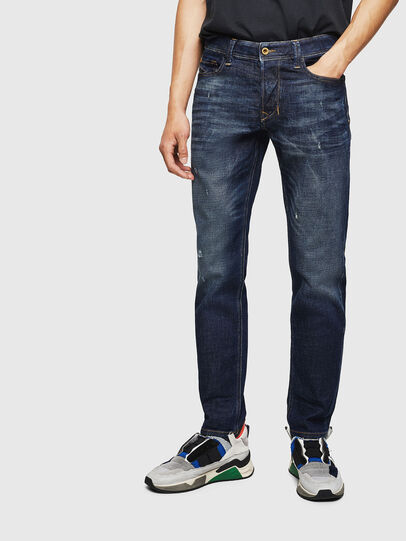 Diesel - Larkee-Beex 087AT, Dark Blue - Jeans - Image 1