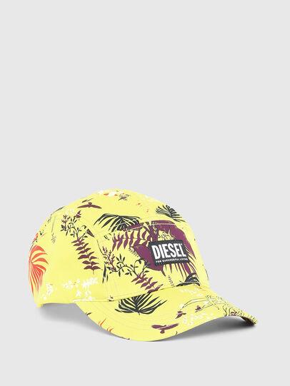 Diesel - C-WAY, Yellow Fluo - Caps - Image 1