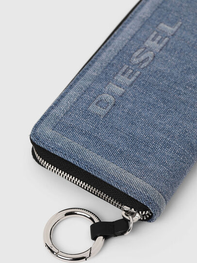 Diesel - GRANATO LC, Blue Jeans - Zip-Round Wallets - Image 3
