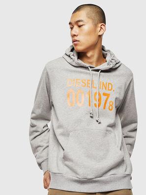 S-GIRK-HOOD, Grey - Sweaters