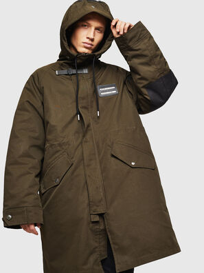 W-KOBEC, Military Green - Winter Jackets