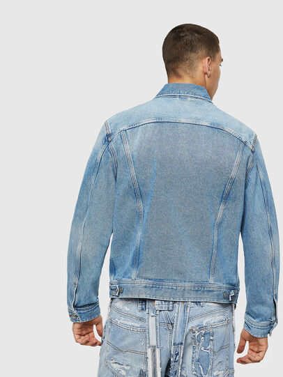 Diesel - D-BRAY, Light Blue - Denim Jackets - Image 2