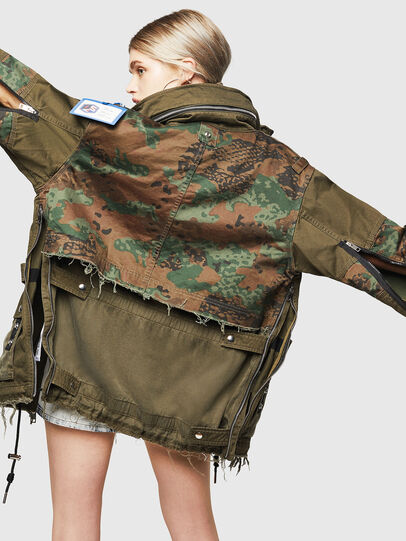 Diesel - G-LEE-C, Military Green - Jackets - Image 3