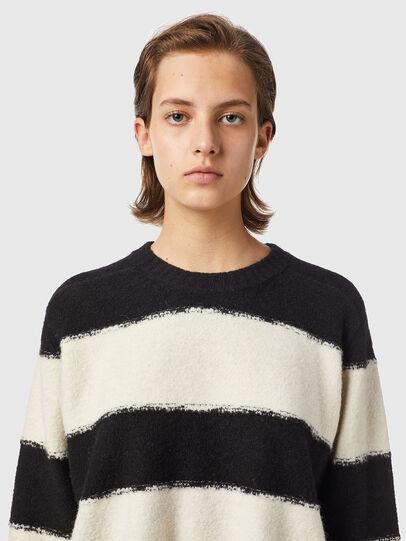 Diesel - M-VIRGINIA, Black/White - Knitwear - Image 3