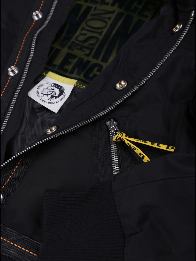 Diesel - JSHARK, Black - Jackets - Image 3