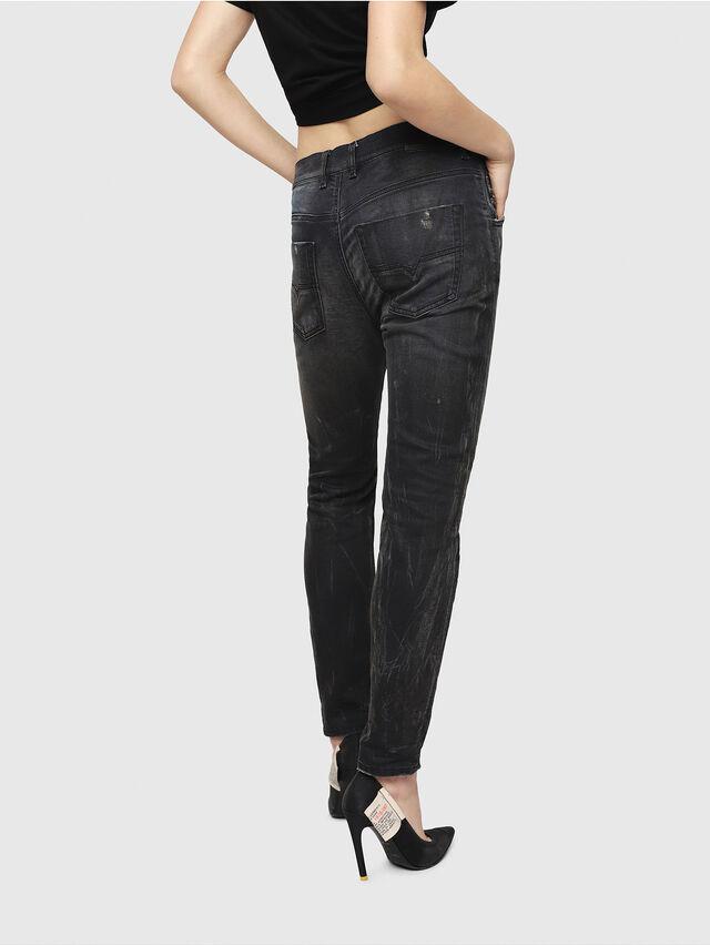 Diesel - Krailey JoggJeans 069IA, Black Jeans - Jeans - Image 2