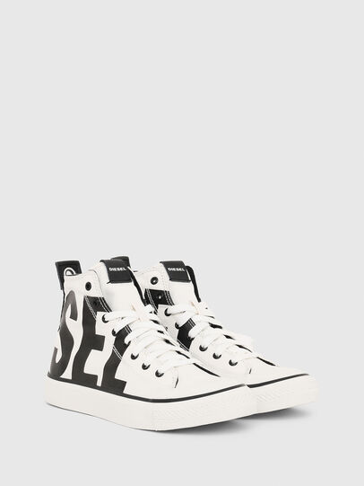 Diesel - S-ASTICO MC W, White/Black - Sneakers - Image 2