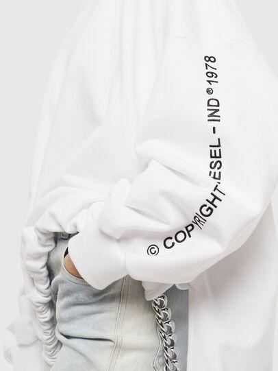 Diesel - F-JUSTIN, White - Sweaters - Image 2