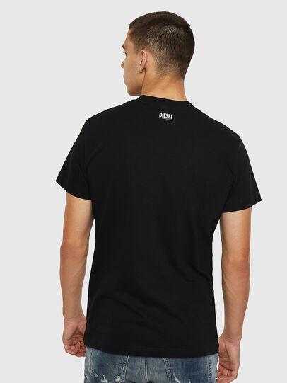 Diesel - T-DIEGO-B10, Black - T-Shirts - Image 2