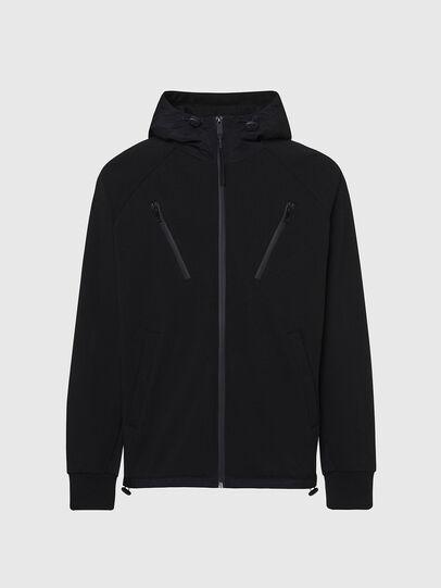 Diesel - S-RUNNER, Black - Sweaters - Image 1