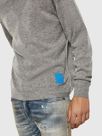 Diesel - K-LETO, Grey - Knitwear - Image 3