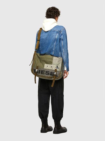 Diesel - BIVIO, Olive Green - Crossbody Bags - Image 6