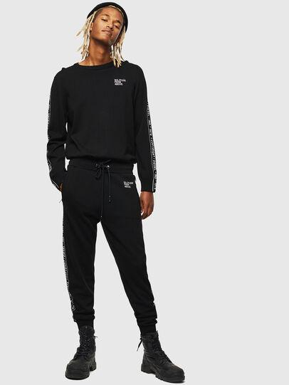 Diesel - K-SUIT-C, Black - Pants - Image 1