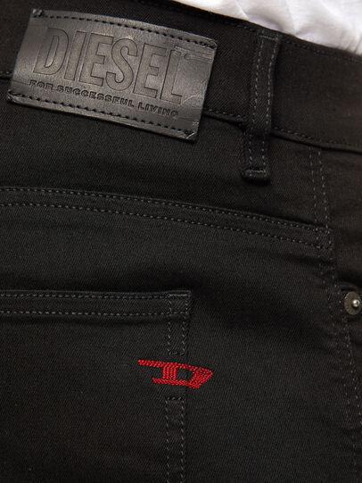 Diesel - D-Istort 069EF, Black/Dark grey - Jeans - Image 4