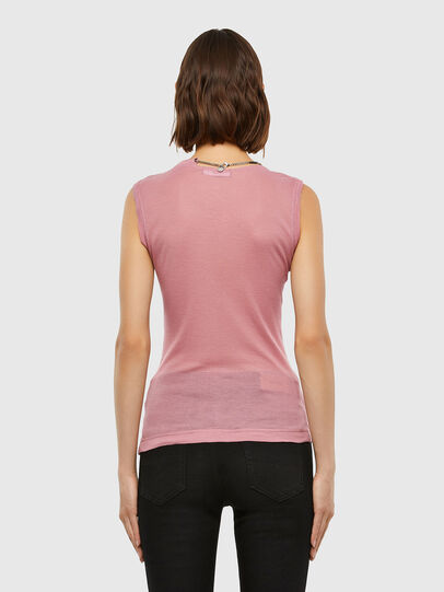 Diesel - T-CHANNY, Pink - Tops - Image 2