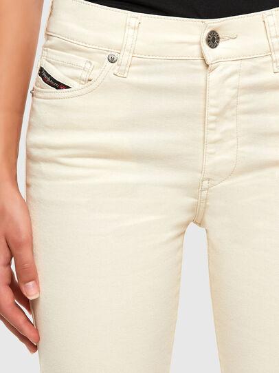 Diesel - D-Roisin 0096H, White - Jeans - Image 3