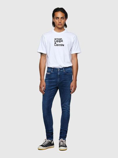 Diesel - D-Istort 009ZX, Dark Blue - Jeans - Image 5