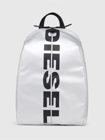 Diesel - F-BOLD BACK, Silver/Black - Backpacks - Image 1