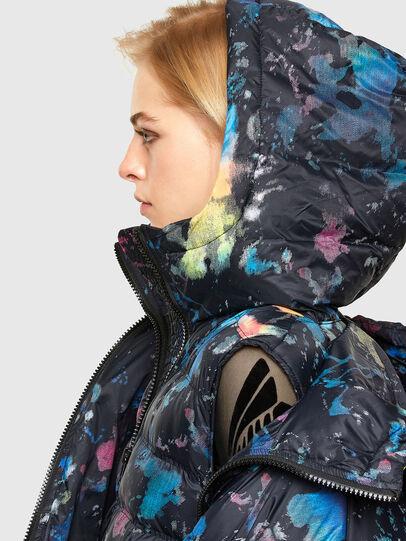 Diesel - W-JANUA, Black - Winter Jackets - Image 3