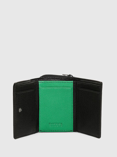 Diesel - SPEJAP, Black/Green - Small Wallets - Image 3
