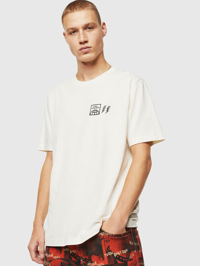 Diesel - T-JUST-VINT, White - T-Shirts - Image 1