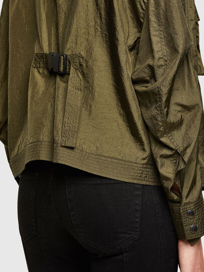 Diesel - C-CORAL, Military Green - Shirts - Image 4
