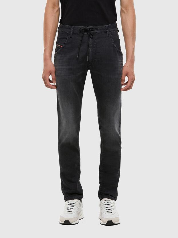 Krooley JoggJeans 009KD, Black/Dark grey - Jeans
