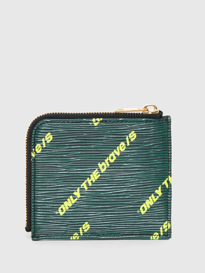Diesel - L-CARDA, Black/Green - Small Wallets - Image 2