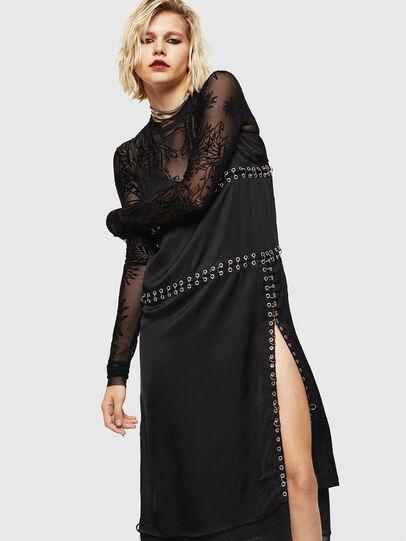 Diesel - D-NAKIA, Black - Dresses - Image 1