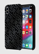 DIESEL PRINTED CO-MOLD CASE FOR IPHONE XS MAX, Black - Cases