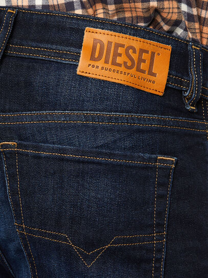 Diesel - Sleenker 009EY, Dark Blue - Jeans - Image 4