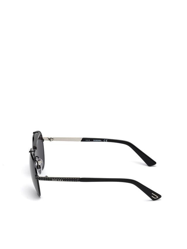 Diesel - DL0238, Black - Sunglasses - Image 3