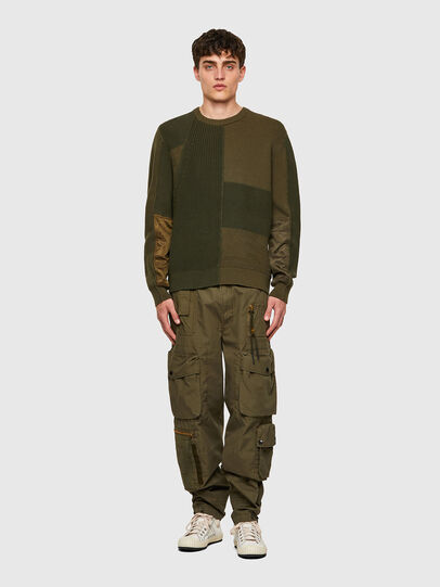 Diesel - K-YUKON, Military Green - Knitwear - Image 5