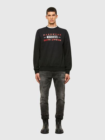 Diesel - S-GIRK-K10, Black - Sweaters - Image 4