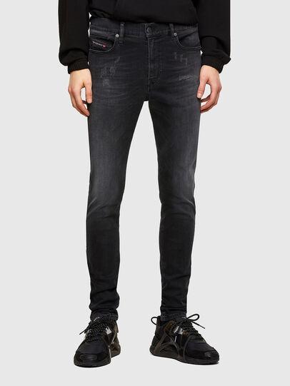 Diesel - D-Istort 069SB, Black/Dark grey - Jeans - Image 1