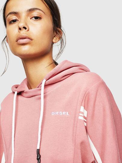 Diesel - UFLT-VERTIX-CROP, Pink - Sweaters - Image 3