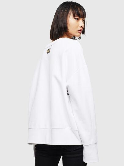 Diesel - CL-F-MAGDA-BIGM, White - Sweaters - Image 2