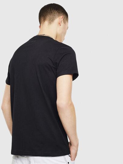 Diesel - T-DIEGO-S12, Black - T-Shirts - Image 2