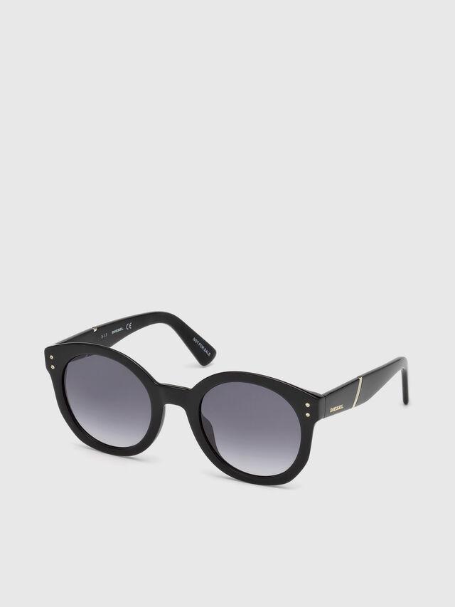 Diesel DL0252, Black - Eyewear - Image 4