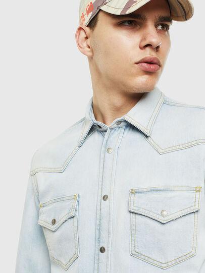Diesel - D-EAST-P, Blue Jeans - Denim Shirts - Image 4