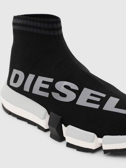 Diesel - H-PADOLA MID SOCK W, Black - Sneakers - Image 5