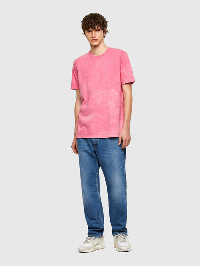 Diesel - T-JUST-E2, Pink - T-Shirts - Image 5