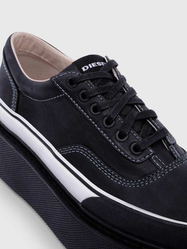 Diesel - H-SCIROCCO LOW, Black/White - Sneakers - Image 4
