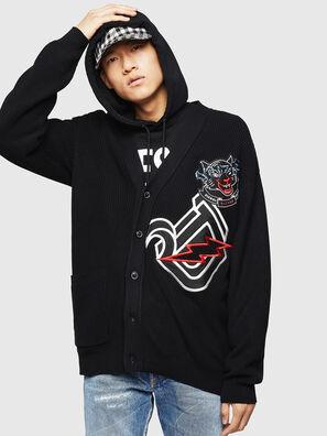 K-EXIT, Black - Knitwear