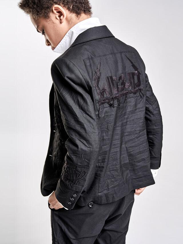 Diesel - JEMMIE, Black - Jackets - Image 4