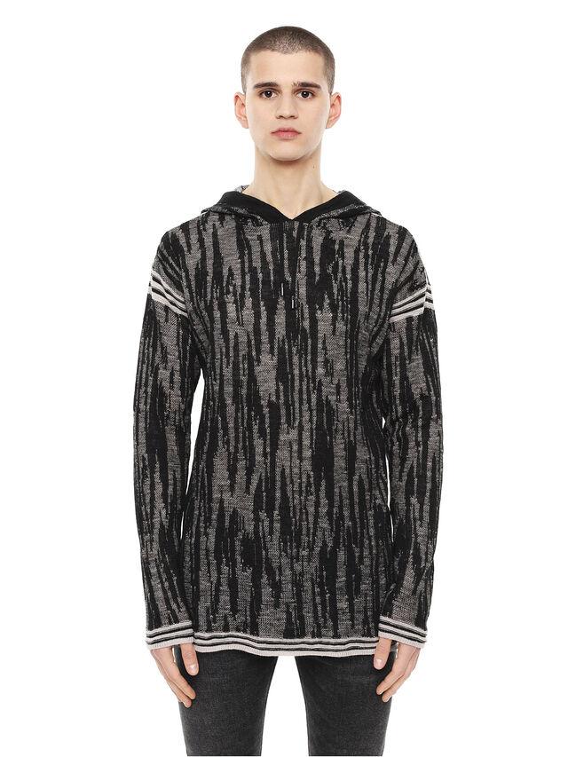Diesel - KYSE, Black - Knitwear - Image 1