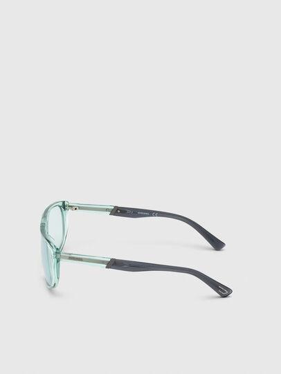 Diesel - DL0300, Light Blue - Sunglasses - Image 3